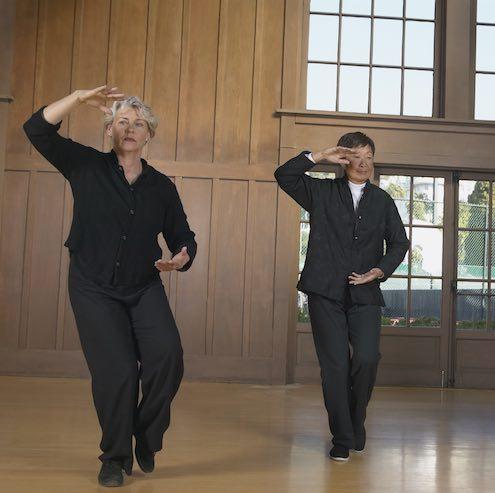 Photo of seniors doing Tai Chi