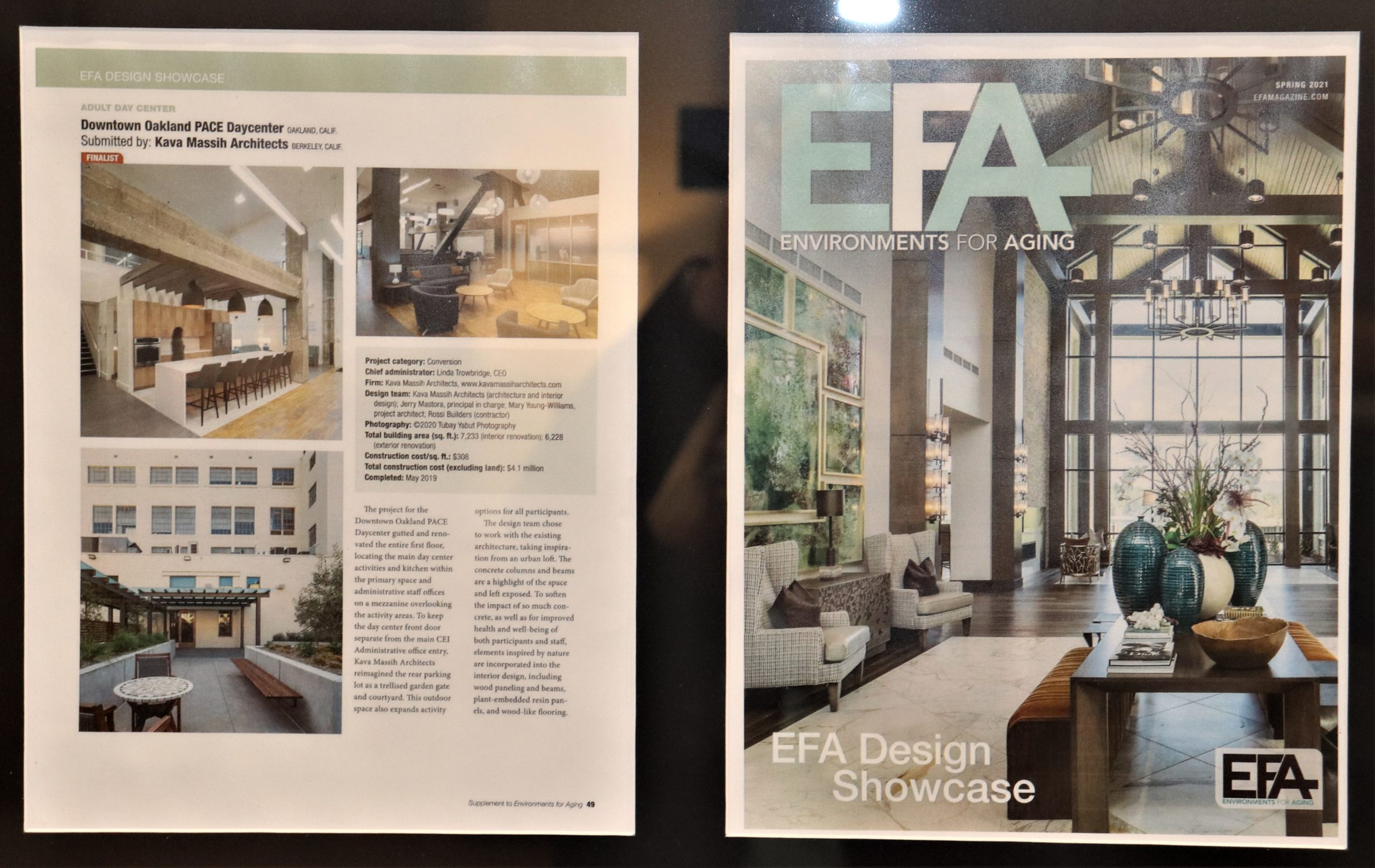 PACE Downtown Oakland Center Finalist in EFA magazine